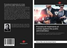 Bookcover of Procedural treatments of crimes against the public administration