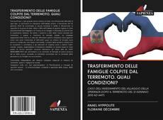 Capa do livro de TRASFERIMENTO DELLE FAMIGLIE COLPITE DAL TERREMOTO. QUALI CONDIZIONI?