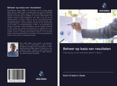 Bookcover of Beheer op basis van resultaten