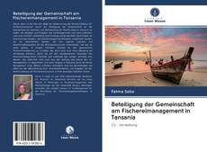 Beteiligung der Gemeinschaft am Fischereimanagement in Tansania kitap kapağı