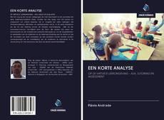 Bookcover of EEN KORTE ANALYSE