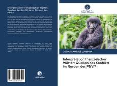 Copertina di Interpretation französischer Wörter: Quellen des Konflikts im Norden des PNVi?