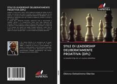 Portada del libro de STILE DI LEADERSHIP DELIBERATAMENTE PROATTIVA (DPL)