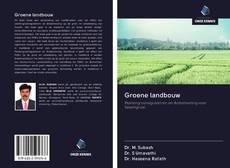 Borítókép a  Groene landbouw - hoz
