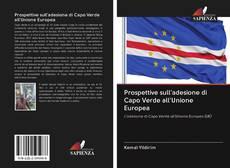 Capa do livro de Prospettive sull'adesione di Capo Verde all'Unione Europea