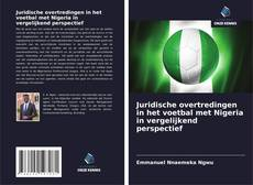 Bookcover of Juridische overtredingen in het voetbal met Nigeria in vergelijkend perspectief