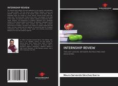 INTERNSHIP REVIEW kitap kapağı