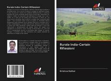 Bookcover of Rurale India-Certain Riflessioni