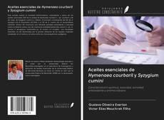 Portada del libro de Aceites esenciales de Hymenaea courbaril y Syzygium cumini