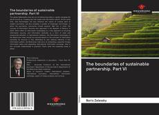 Bookcover of The boundaries of sustainable partnership. Part VI