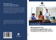 Обложка Management von Unterstützungsdiensten und Aufgabenerfüllung der Lehrer