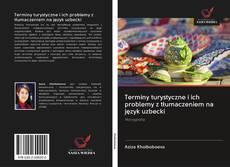Bookcover of Terminy turystyczne i ich problemy z tłumaczeniem na język uzbecki