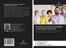 Bookcover of Vocational guidance strategies in secondary education