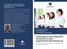 Portada del libro de Vorschlag für eine didaktische Broschüre für eine angemessene Berufsberatung