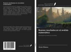 Capa do livro de Nuevos resultados en el análisis matemático