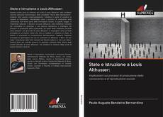 Stato e istruzione a Louis Althusser: kitap kapağı