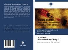 Portada del libro de Qualitative Gesundheitsforschung III