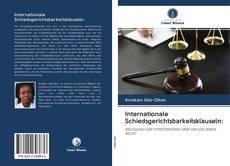 Обложка Internationale Schiedsgerichtsbarkeitsklauseln: