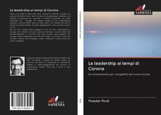 Обложка La leadership ai tempi di Corona