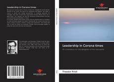 Bookcover of Leadership in Corona times