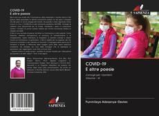 Capa do livro de COVID-19 E altre poesie