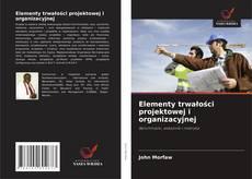 Bookcover of Elementy trwałości projektowej i organizacyjnej