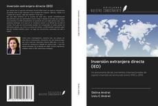 Обложка Inversión extranjera directa (IED)