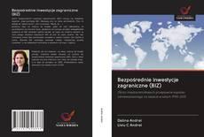 Capa do livro de Bezpośrednie inwestycje zagraniczne (BIZ)
