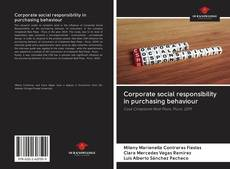 Bookcover of Corporate social responsibility in purchasing behaviour