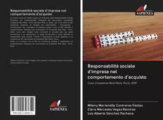 Responsabilità sociale d'impresa nel comportamento d'acquisto kitap kapağı