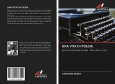 Обложка UNA VITA DI POESIA