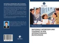 Обложка NATIONALE INTERESSEN UND TOLERANZ IN DEN INTERNATIONALEN BEZIEHUNGEN