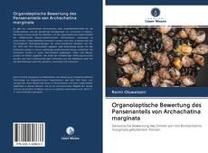 Bookcover of Organoleptische Bewertung des Pansenanteils von Archachatina marginata