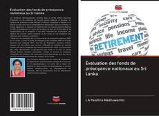 Bookcover of évaluation des fonds de prévoyance nationaux au Sri Lanka