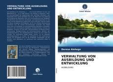Обложка VERWALTUNG VON AUSBILDUNG UND ENTWICKLUNG