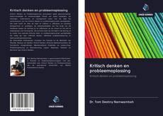 Kritisch denken en probleemoplossing kitap kapağı