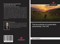 Borítókép a  The boundaries of sustainable partnership. Part VIII - hoz