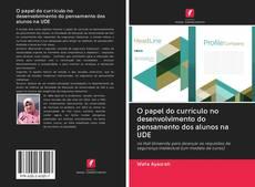 Couverture de O papel do currículo no desenvolvimento do pensamento dos alunos na UDE