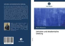 Buchcover von Lehrplan und akademische Leistung