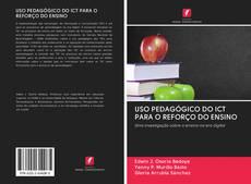 Capa do livro de USO PEDAGÓGICO DO ICT PARA O REFORÇO DO ENSINO