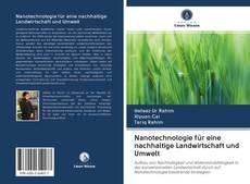 Bookcover of Nanotechnologie für eine nachhaltige Landwirtschaft und Umwelt