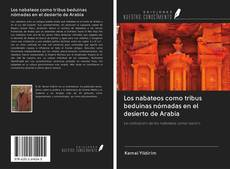 Portada del libro de Los nabateos como tribus beduinas nómadas en el desierto de Arabia