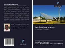 Hernieuwbare energie kitap kapağı