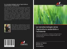 La nanotecnologia verso l'agricoltura sostenibile e l'ambiente kitap kapağı