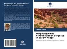 Обложка Morphologie des handwerklichen Bergbaus in der DR Kongo.