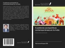 Portada del libro de Cuestiones sociopolíticas contemporáneas en la India
