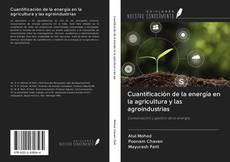 Portada del libro de Cuantificación de la energía en la agricultura y las agroindustrias