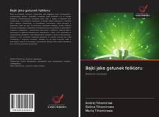 Bookcover of Bajki jako gatunek folkloru