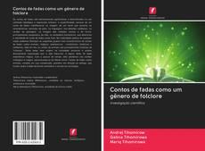 Buchcover von Contos de fadas como um gênero de folclore
