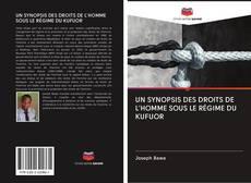 Portada del libro de UN SYNOPSIS DES DROITS DE L'HOMME SOUS LE RÉGIME DU KUFUOR